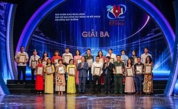175 tác phẩm báo chí được vinh danh tại Giải thưởng toàn quốc về thông tin đối ngoại lần thứ VI