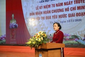 Toàn văn phát biểu của Chủ tịch VUFO Nguyễn Phương Nga tại Lễ Kỷ niệm 70 năm Ngày truyền thống