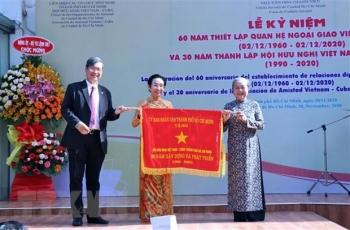 Kỷ niệm 60 năm thiết lập quan hệ ngoại giao Việt Nam - Cuba tại thành phố Hồ Chí Minh
