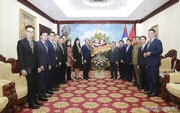 Tiếp tục hợp tác chặt chẽ, vun đắp, phát triển mối quan hệ Việt-Lào