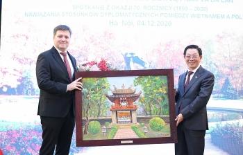 70 năm thiết lập quan hệ ngoại giao Việt Nam - Ba Lan: hàng trăm cựu lưu học sinh vun đắp tình hữu nghị