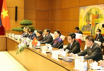 17 văn kiện hợp tác được kí kết trong kỳ họp lần thứ 43 Ủy ban liên Chính phủ Việt Nam-Lào