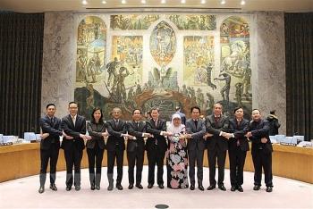 Việt Nam đề xuất, thương lượng và thúc đẩy thành công Đại hội đồng LHQ thông qua Nghị quyết hợp tác LHQ-ASEAN