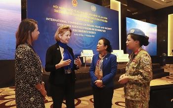 Phụ nữ góp phần kiến tạo hòa bình thế giới