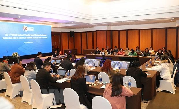 Hoi nghi doi thoai xa hoi ba ben khu vuc ASEAN lan thu 11 hinh anh 1