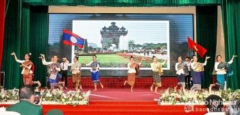 Nghệ An: Giao lưu hữu nghị chào Xuân 2021 cùng sinh viên quốc tế