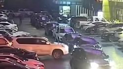 video tai xe nghi say xin phong o to xe gio dam vo tram xe buyt lam 4 nguoi nhap vien
