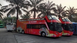 TP Hồ Chí Minh sắp khai trương xe buýt hai tầng mui trần cho khách du lịch