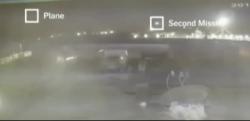 Video: Cận cảnh máy bay Ukraine liên tiếp trúng 2 tên lửa của Iran