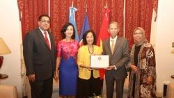 Đại sứ Việt Nam tại Argentina tiếp nhận chức Chủ tịch ASEAN