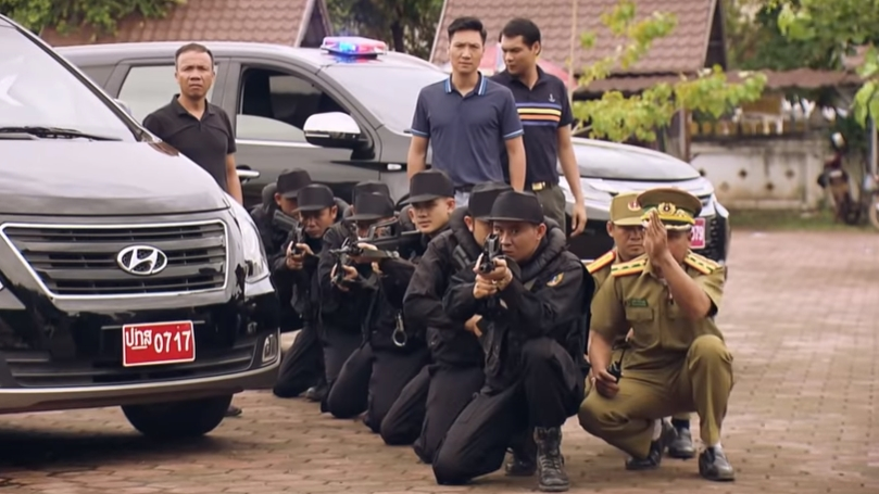 Sinh tử tập 73: Nghẹt thở cảnh công an Việt Nam – Lào phối hợp vây bắt Lê Hoàng