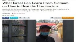 viet nam khong tham van chuyen gia israel phong chong covid 19