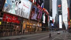 New York hoang vắng chưa từng thấy giữa đại dịch Covid-19