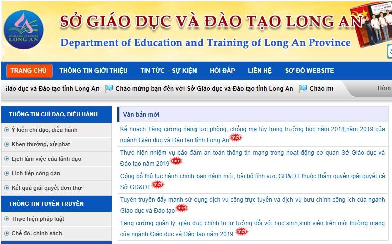 diem chuan lop 10 tinh long an nam 2019