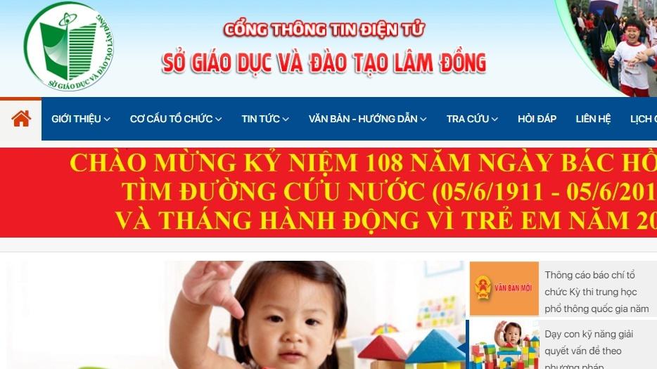 tra cuu diem thi lop 10 o lam dong nam 2019