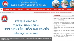 diem chuan lop 10 tinh binh dinh nam 2019