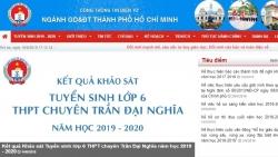 diem chuan lop 10 tphcm nam 2019 duoc cong bo ngay 37