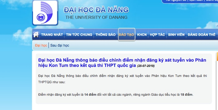 tuyen sinh 2019 nhieu truong dai hoc tang diem san