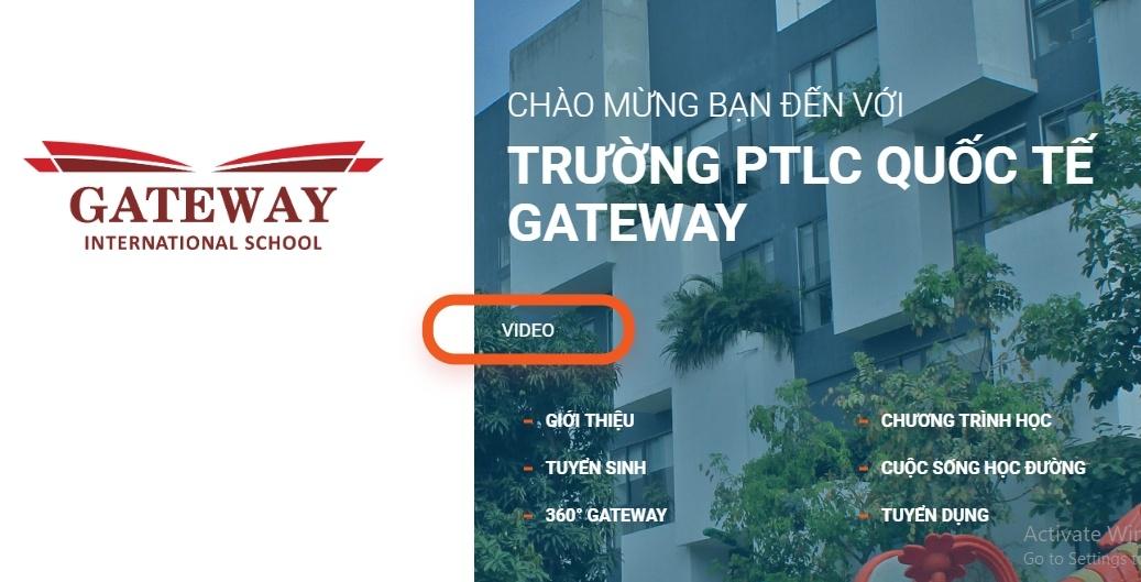 truong gateway la truong tu thuc giang day chuong trinh nuoc ngoai