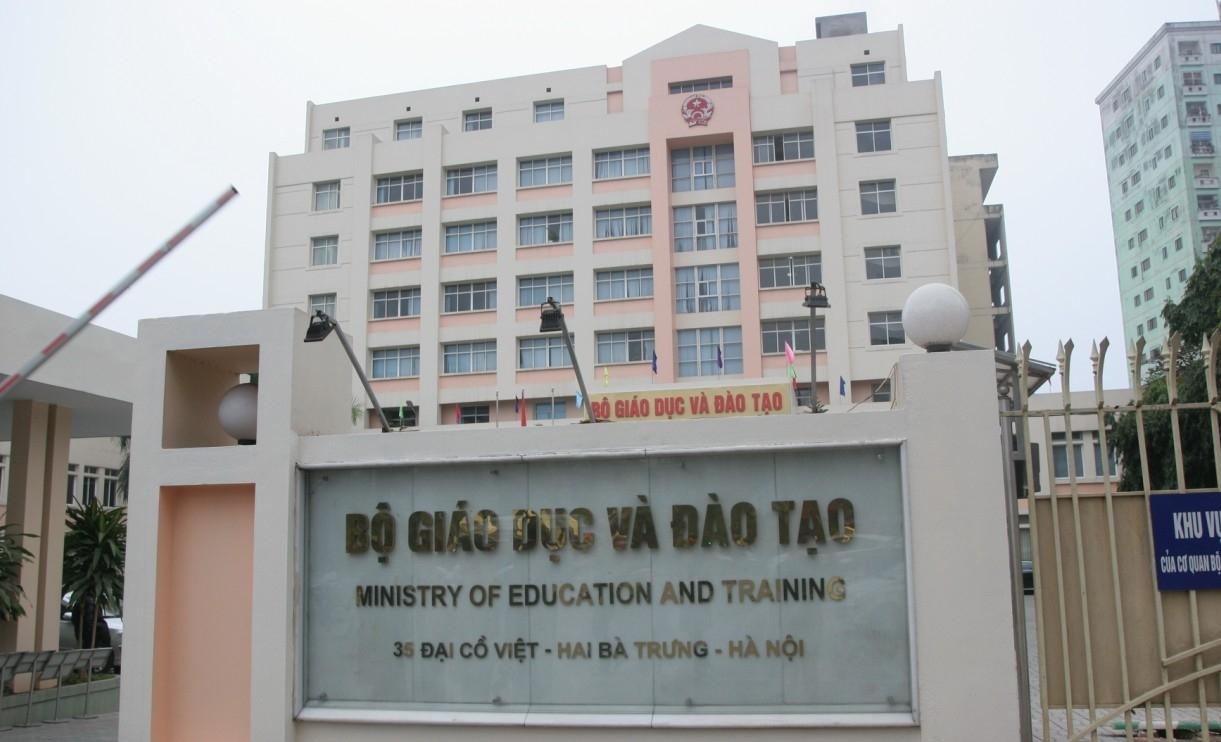 Trụ sở Bộ Giáo dục và Đào tạo tại 35 Đại Cồ Việt (Hà Nội).