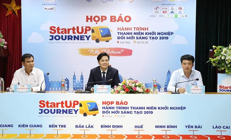 startup journey 2019 thanh nien khoi nghiep sang tao tu du lich dia phuong