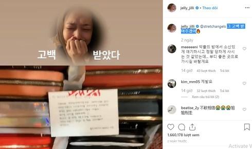 dong trang thai cuoi cung tren instagram cua sulli am chi dieu gi
