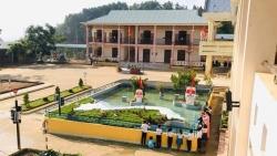 Trường PT Dân tộc bán trú TH Trà Tập (Quảng Nam) xây dựng mô hình sa bàn bản đồ Việt Nam