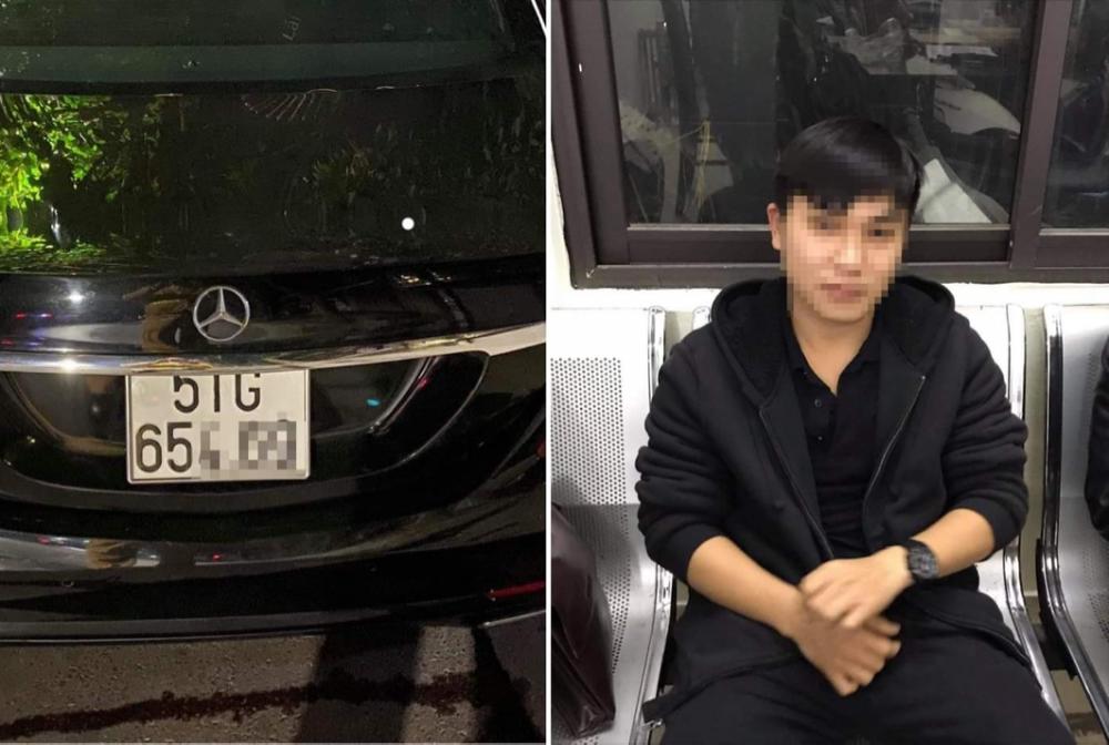 """Phát hiện xe sang Mercedes S500 mang """"nhầm"""" biển số"""