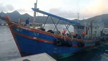 Bộ Tư lệnh Vùng Cảnh sát biển 3 bắt giữ tàu chở 20.000 lít dầu DO không rõ nguồn gốc