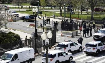 Một sỹ quan thiệt mạng trong vụ tấn công Nhà Quốc hội Mỹ, Đồi Capitol phong tỏa