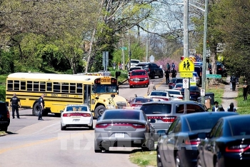 Lại xảy ra xả súng khiến nhiều người thương vong tại trường học ở Mỹ