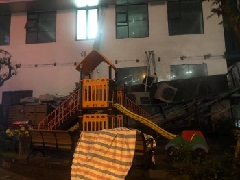 Xác định nguyên nhân vụ sập giàn điều hòa tại chung cư An Bình ở Hà Nội