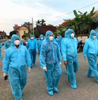 Hà Nội: Một bác sĩ nghi dương tính với SARS-CoV-2