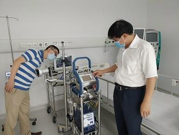 Bệnh viện Dã chiến Hà Nam sẵn sàng đón bệnh nhân sau 24 giờ lắp đặt