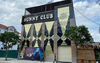 Vĩnh Phúc rút giấy phép kinh doanh của quán bar, karaoke Sunny