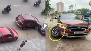 Pha xử lý 'cồng kềnh' đến khó tin của nam tài xế xe Ford