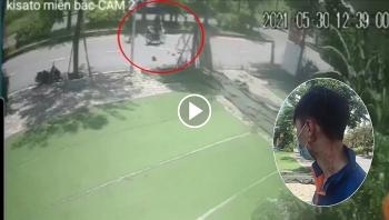 Nam thanh niên giao hàng vật lộn với 2 tên cướp giữa đường
