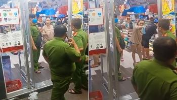 Người phụ nữ đi siêu thị không đeo khẩu trang và cái kết