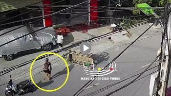 Để 'Rơ-mooc' đâm trúng xế hộp Mazda, nam thanh niên 'giả vờ' đau đớn khi thấy chủ xe
