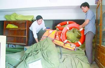 Tổ chức hướng dẫn sử dụng trang thiết bị chuyên dùng phòng chống thiên tai hiệu quả
