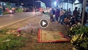 Va chạm kinh hoàng giữa 2 xe máy khiến cho 2 người thương vong