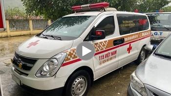 Xe cứu thương chở nhiều người ở Bắc Ninh về Sơn La định 'thông chốt' kiểm soát