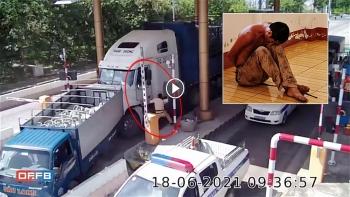Toàn cảnh vụ việc CSGT truy bắt tài xế xe container 'ngáo đá' gây náo loạn Sóc Trăng