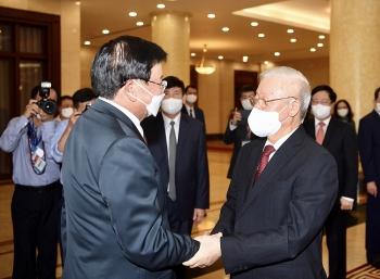 Việt Nam - Lào ký Thỏa thuận Chiến lược hợp tác 2021-2030