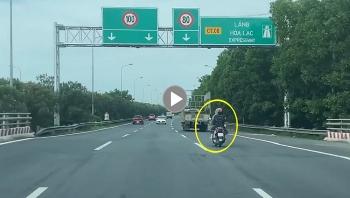 """""""Nữ ninja LEAD"""" phóng như bay trên đại lộ Thăng Long"""