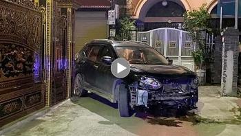 Tài xế xe hơi nhanh chóng rời khỏi hiện trường sau khi gây tai nạn