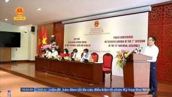 Kỳ họp thứ nhất kiện toàn 50 chức danh, giảm 1 Phó Thủ Tướng Chính Phủ