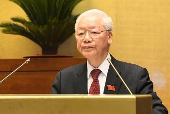 Tổng Bí thư Nguyễn Phú Trọng: Quốc hội cần nâng cao chất lượng, hiệu quả hoạt động trong giai đoạn mới