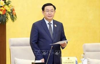 Chủ tịch Quốc hội Vương Đình Huệ: Quốc hội sẽ quyết nghị về phòng, chống dịch Covid-19