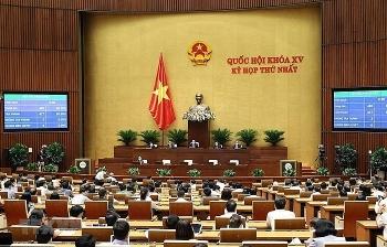 Thông cáo báo chí số 5, Kỳ họp thứ nhất, Quốc hội khóa XV